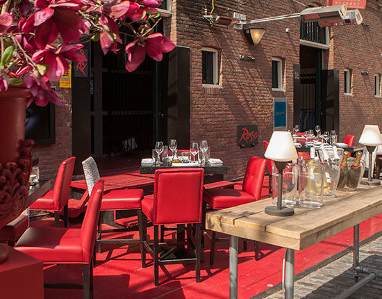 Rosso viplounge - Rotterdam - Mulleman Meubelen